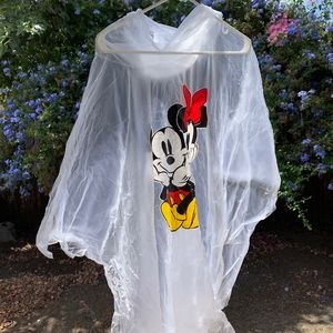 Mickey and Minnie Rain poncho
